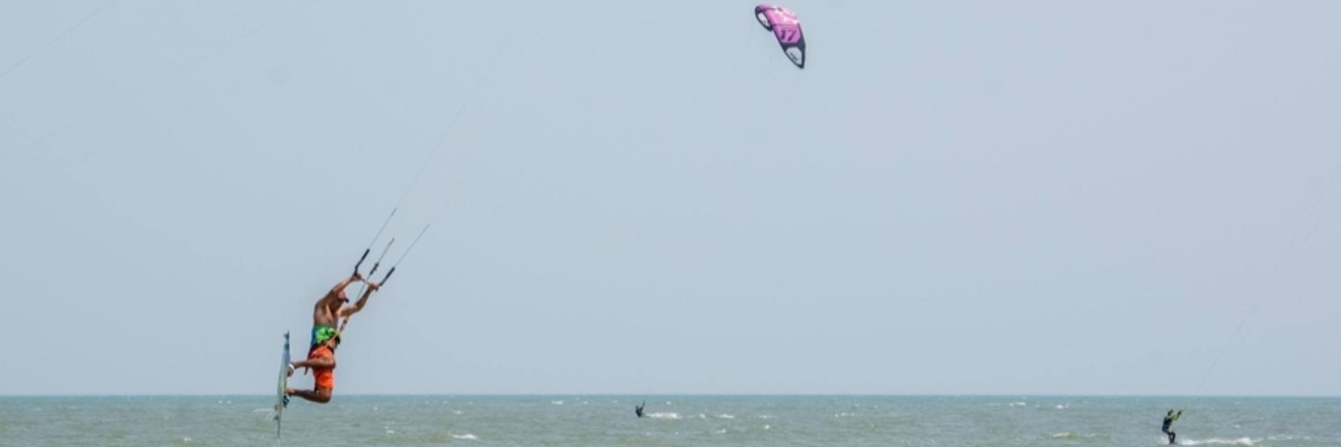 KITEBOARDING IN PRAN BURI: THE EXCITEMENT ON THE CALM SEA