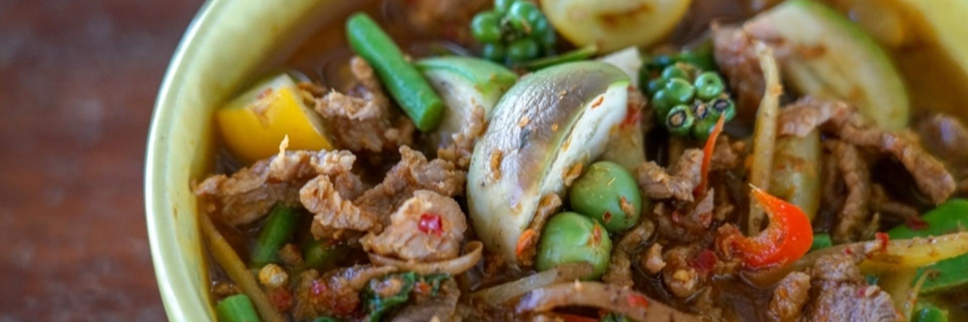 อร่อยครบทุกรสเผ็ด ต้องยกให้ แกงป่าเมืองกาญจน์ ที่มีมาแต่โบราณของ จ.กาญจนบุรี