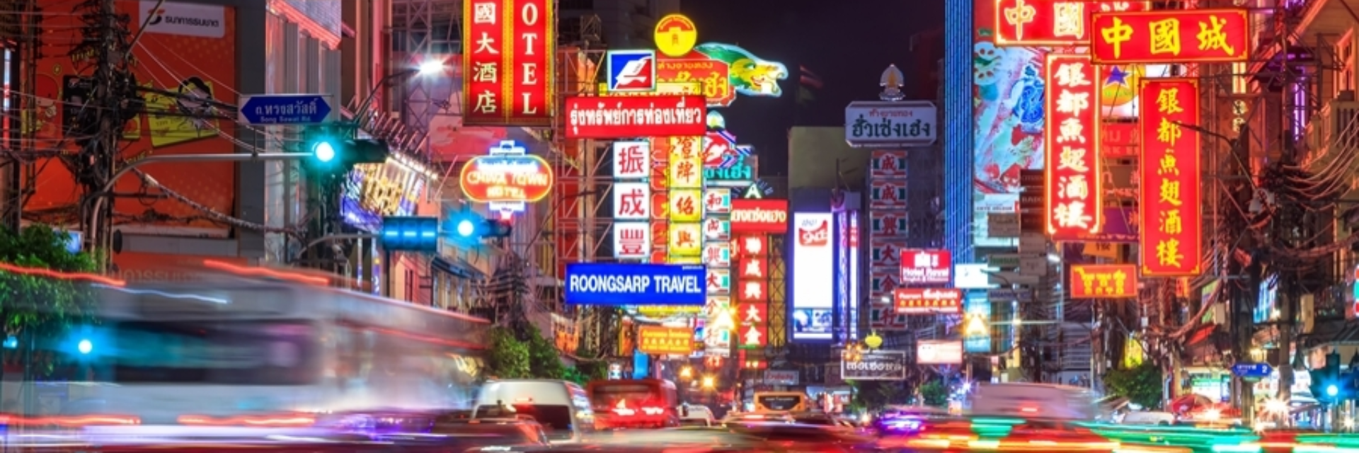 THE ADVENTURE THROUGH BANGKOK'S CHINATOWN