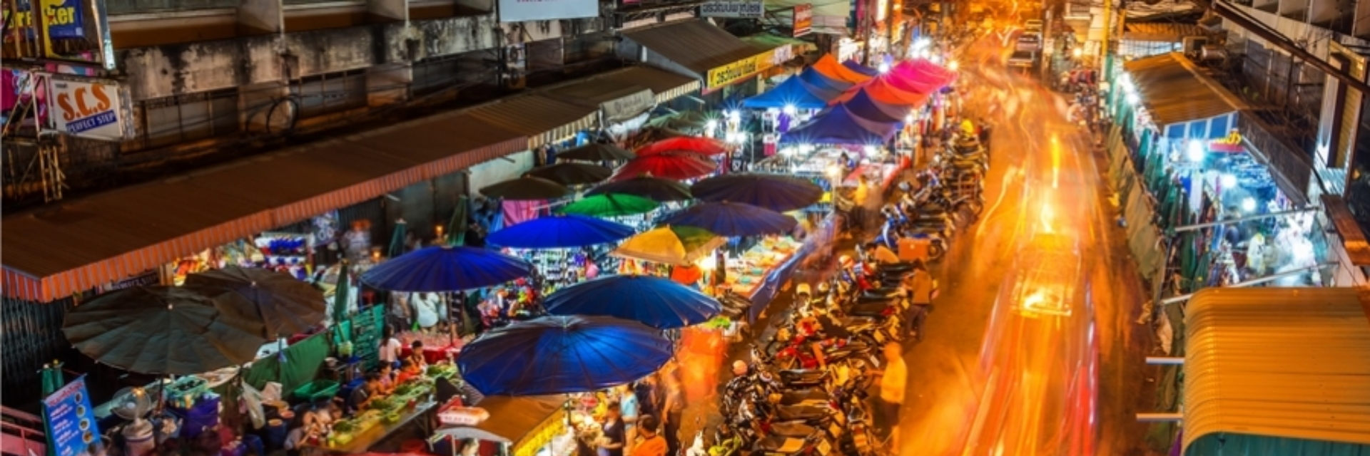 A VIVID NIGHT OUT IN CHIANG MAI