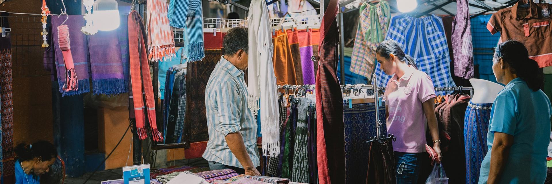 Enjoy Shopping in Southern Isan