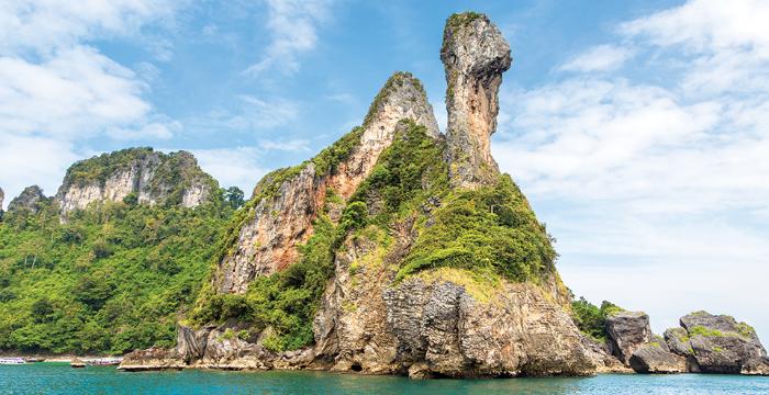 ตะลุยเที่ยว ทะเลแหวก เกาะไก่ เกาะปอดะ อ่าวไร่เลย์ ที่กระบี่ แบบสุดฟิน