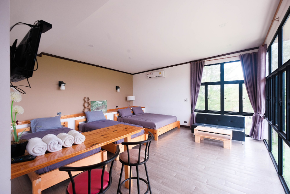 Krin Resort- Cosy accommondation surrouded by moscenice mountian view